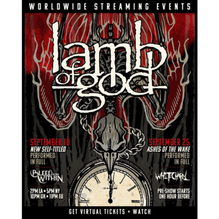 Lamb of God – Worldwide Streaming Events