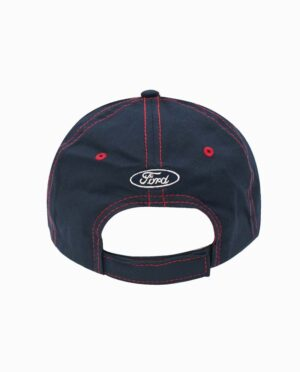 Ford Mustang Navy and Tan Velcro Leisure Hat
