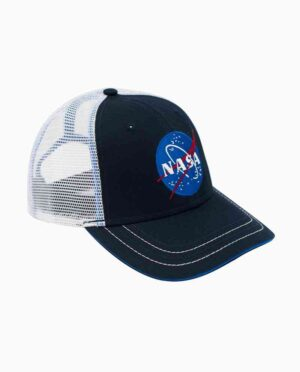 NASA Navy & White Insignia Snapback Hat Side Main Image