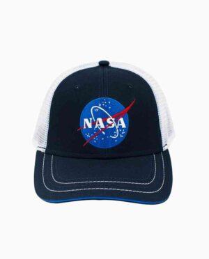 NASA Navy & White Insignia Snapback Hat Main Image