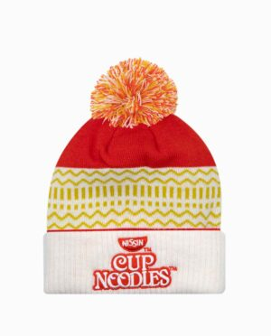 KC14066CONUPP-cupnoodles-red-white-beanie-flat