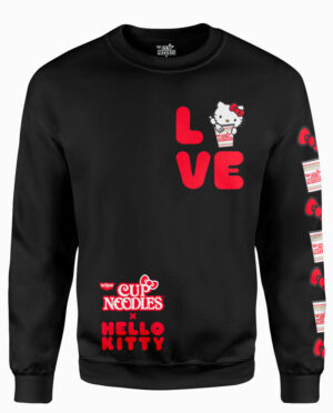 Hello Kitty/Cup Noodles LOVE Sweatshirt Main Image