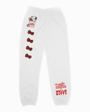 Hello Kitty x Cup Noodles Bow Joggers Main Image