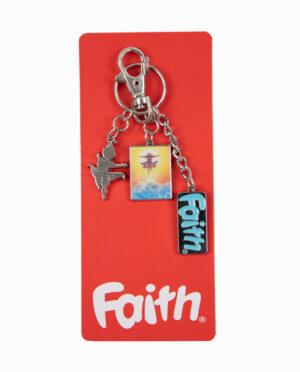 Faith Keychain on card Main Image