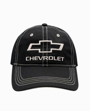 Chevy Black and White Leisure Hat