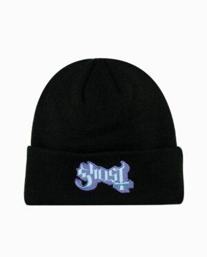 Ghost Popestar Black Knit Beanie