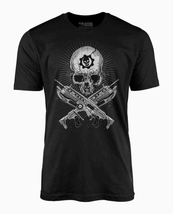 Gears of War Lancer & Skull Tee Main Image