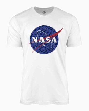 NASA White Logo T-Shirt Main Image