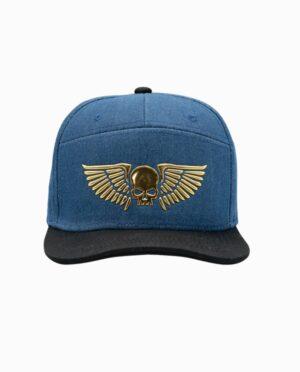 SB005250WHM-war-hammer-skull-wings-hat-front