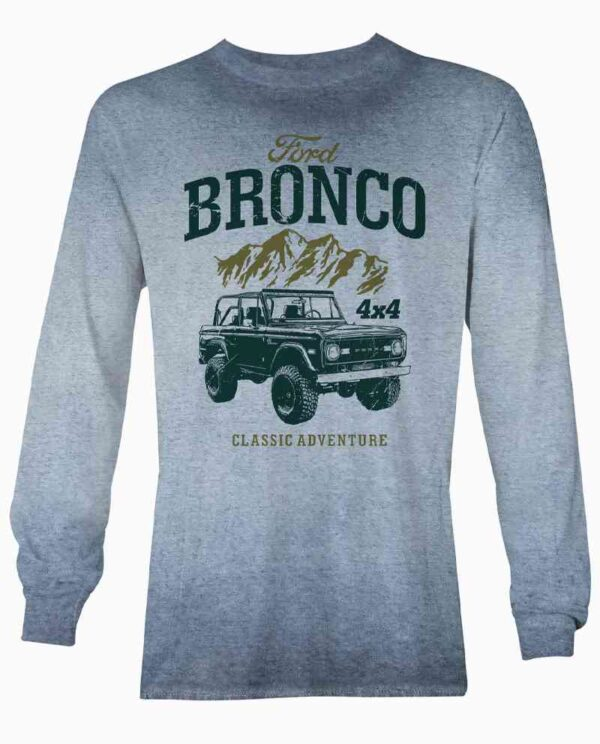 Ford Bronco Blue Long Sleeve
