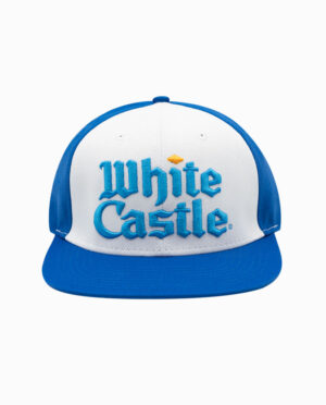 White Castle Blue and White Snapback