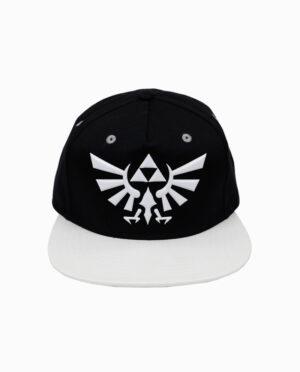 Nintendo Zelda – Hyrule Symbol White and Black Clip Back Hat