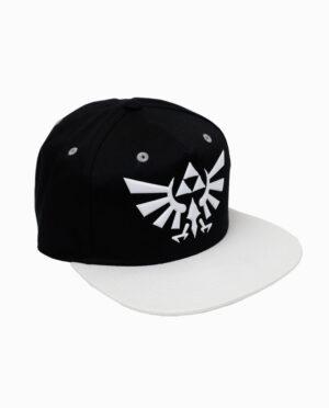 Nintendo Zelda - Hyrule Symbol White and Black Clip Back Hat