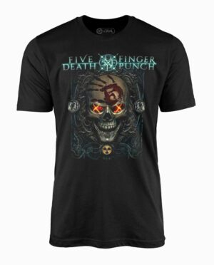 Five Finger Death Punch Iron Skull Black T-Shirt