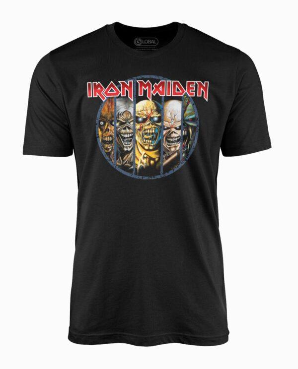 Iron Maiden Eddie's Evolution Black T-Shirt