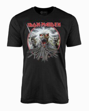 Iron Maiden California Highway Black T-Shirt