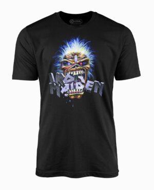 Iron Maiden Eddie Crunch Black T-Shirt
