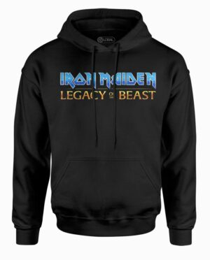 Iron Maiden Legacy of the Beast Black Hoodie