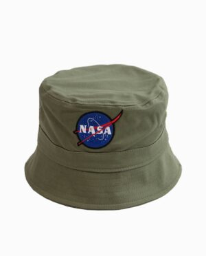 NASA Olive Bucket Hat
