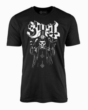 Ghost Papa Wrath Black T-Shirt