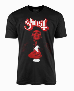 Ghost Dove Red Black T-Shirt