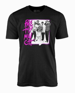 PrettyMuch Band Members Black T-Shirt